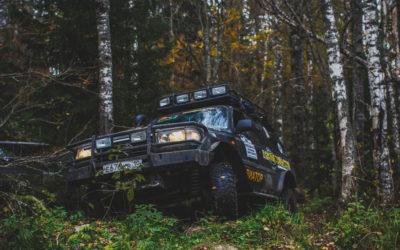 Джип-тур «Водопады Приладожья + горный парк Рускеала»