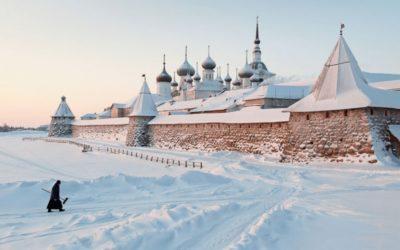 23 февраля 2018 года на Соловках