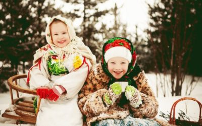 Новый год в Карельском краю
