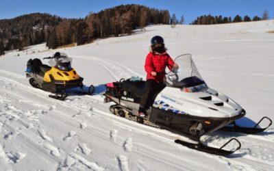 Сафари на снегоходах в Карелии, 2 часа