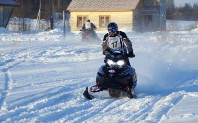 Однодневное снегоходное сафари по Карелии