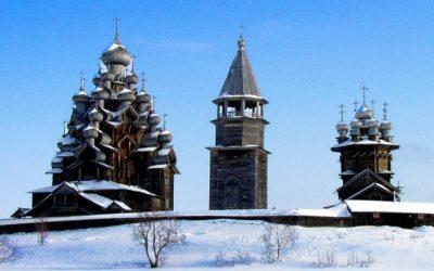 Экскурсия на о. Кижи зимой